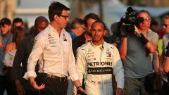 Hamilton-Mercedes: le trattative per il rinnovo rallentano - Immagine: 1