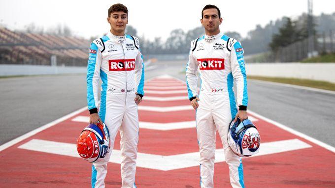 F1 2020: i piloti della Williams sono George Russell e Nicholas Latifi