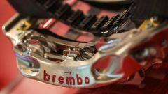 F1 2020, il dettaglio della pinza Brembo