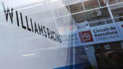 F1 2020, il logo della Williams nel paddock