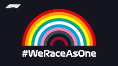 F1 2020, il logo dell'iniziativa #WeRaceAsOne