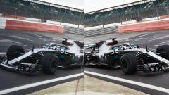 F1 2020, il secondo giorno di protocol-run Mercedes a Silverstone con Lewis Hamilton - Foto 5/8