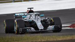 F1 2020, il secondo giorno di protocol-run Mercedes a Silverstone con Lewis Hamilton - Foto 6/8