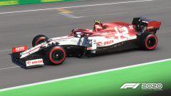 F1 2020: la Alfa Romeo in una gara in Ungheria