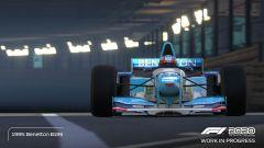 F1 2020: la Benetton B195 di Michael Schumacher