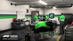 F1 2020: la Carriera Scuderia e le modifiche al telaio