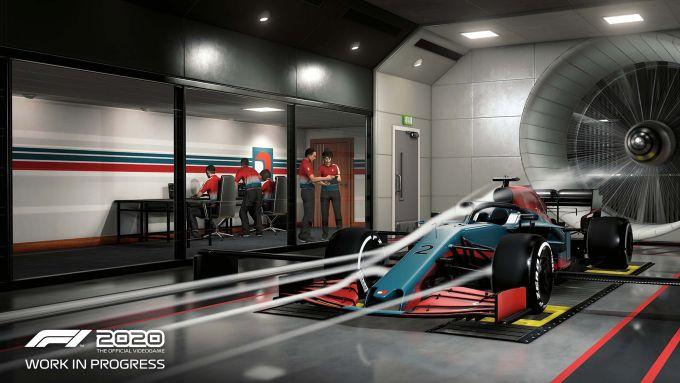 F1 2020: la Carriera Scuderia permette di lavorare sull'aerodinamica