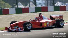 F1 2020: la F1-2000 di Michael Schumacher