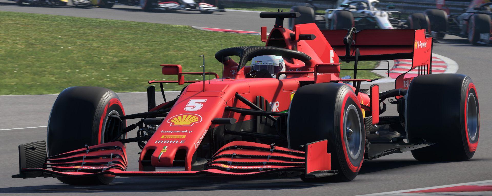F1 2020: la Ferrari di Vettel
