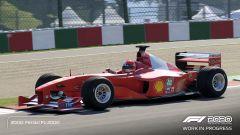 F1 2020: la Ferrari F1-2000 di Michael Schumacher
