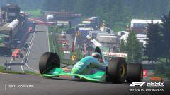 F1 2020: la Jordan 191 di Michael Schumacher