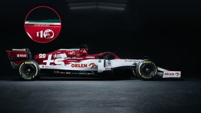 F1 2020, la livrea speciale del team Alfa Romeo Racing per il GP Emilia Romagna di Imola