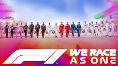 F1 2020, la locandina dell'iniziativa #WeRaceAsOne