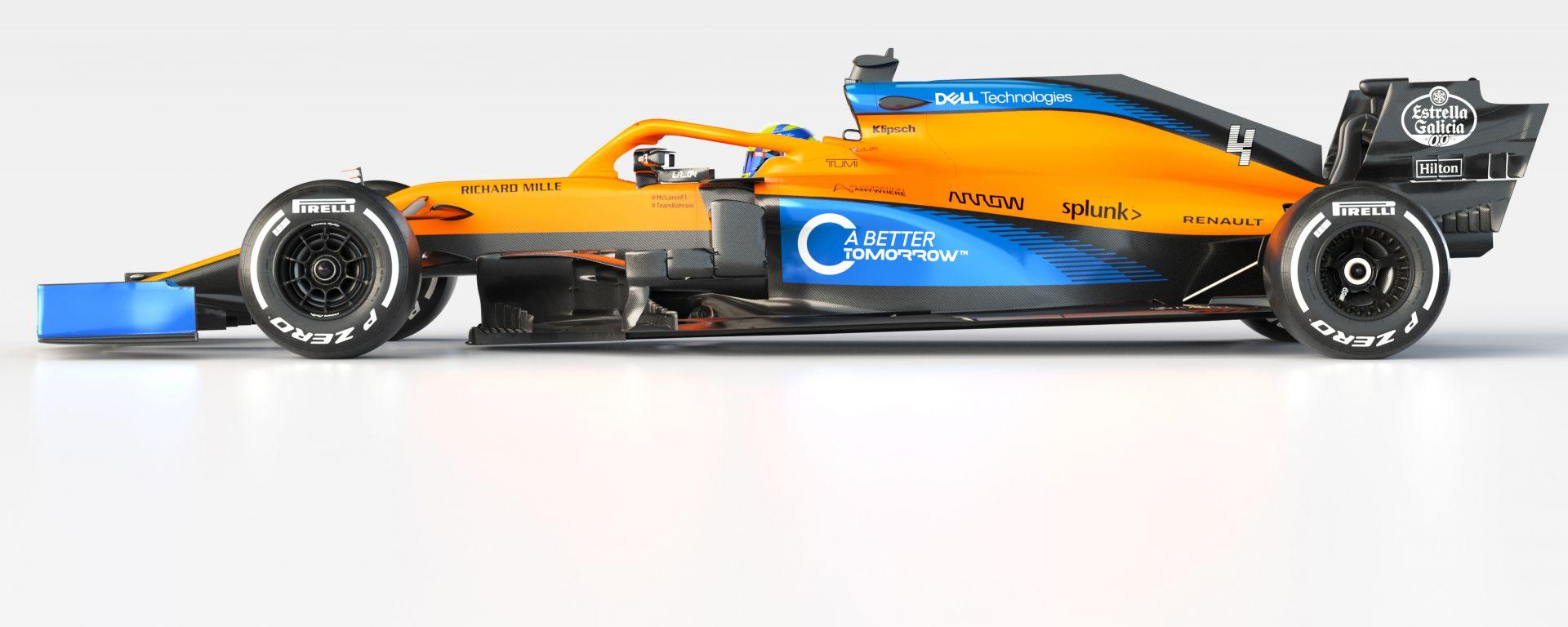 F1 2020, la MCL35 è la monoposto McLaren F1 per il mondiale 2020