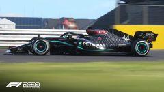 F1 2020: la Mercedes di Lewis Hamilton con livrea nera