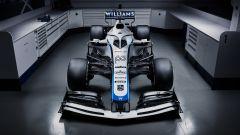 F1 2020, la nuova livrea della Williams FW43 (vista anteriore)