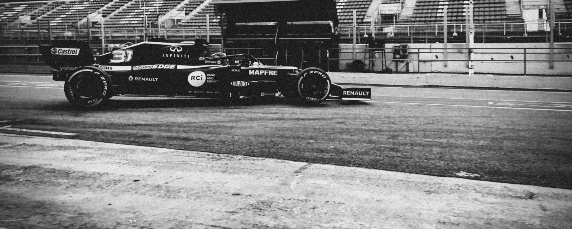 F1 2020: la prima immagine della nuova Renault RS20