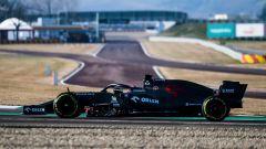 F1 2020: l'Alfa Romeo C39 sul circuito di Fiorano