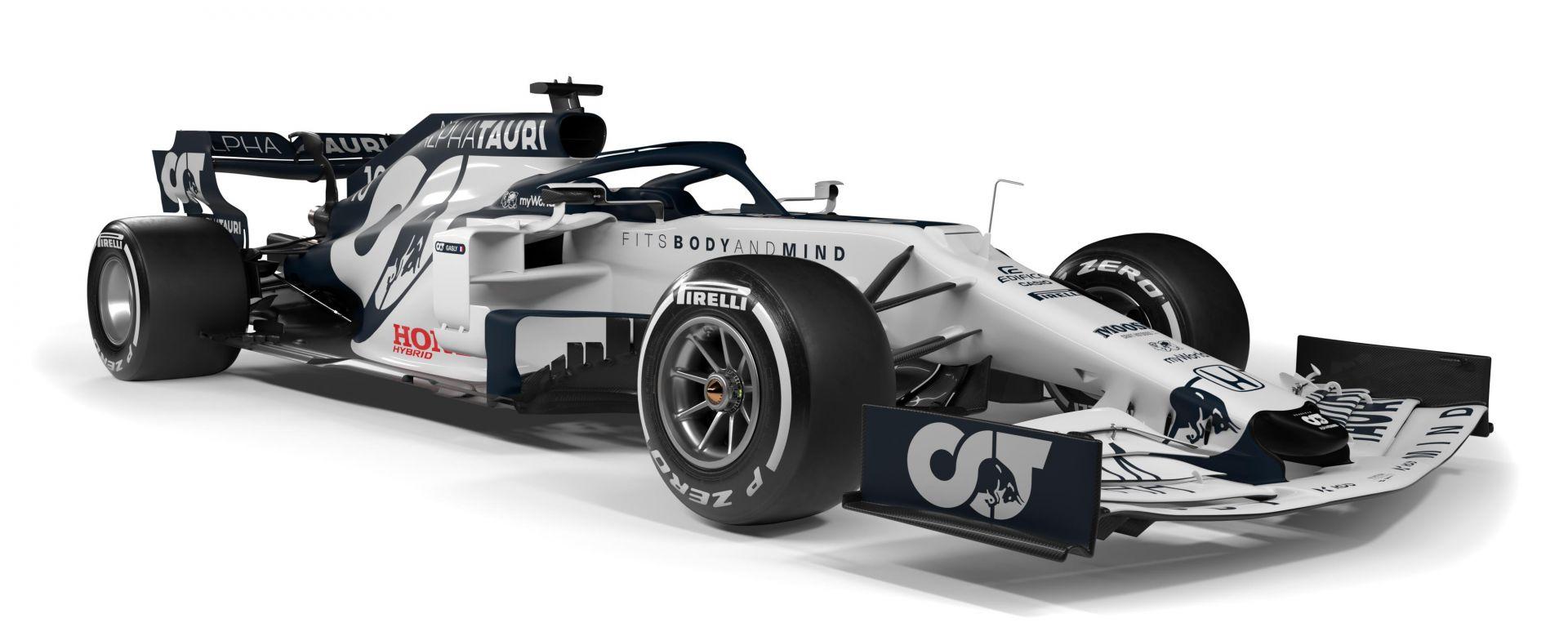 F1 2020: l'Alpha Tauri AT01