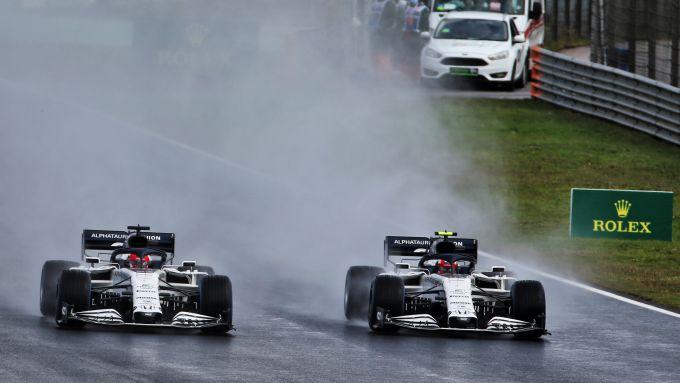 F1 2020: le AlphaTauri di Daniil Kvyat e Pierre Gasly