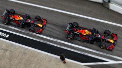 F1 2020: le Red Bull di Max Verstappen e Alex Albon