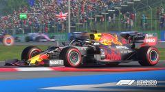 F1 2020: le Redbull in azione