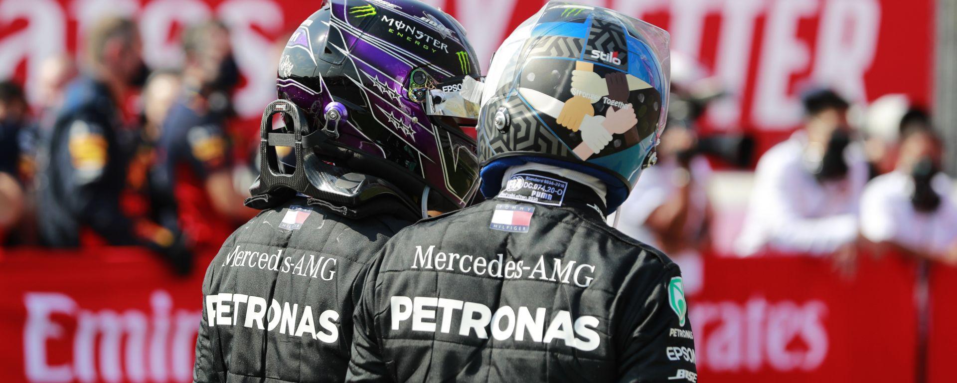 F1 2020: Lewis Hamilton e Valtteri Bottas (Mercedes)