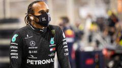 F1 2020: Lewis Hamilton (Mercedes) assente per Covid nel GP Sakhir