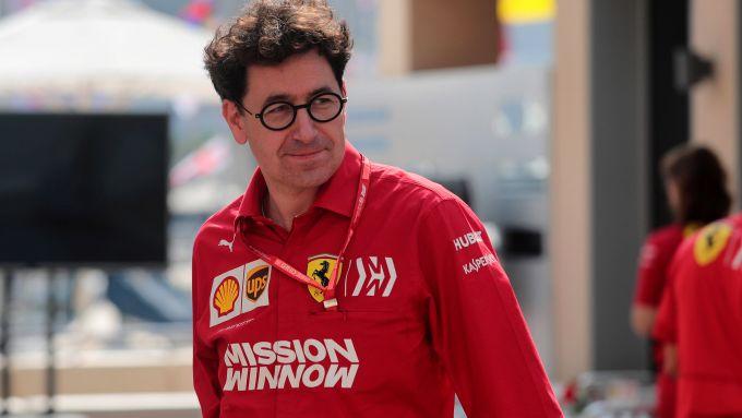 F1 2020: Mattia Binotto, team principal della Ferrari