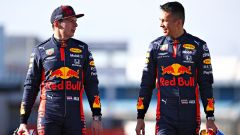F1 2020, Max Verstappen e Alexander Albon (Red Bull Racing)
