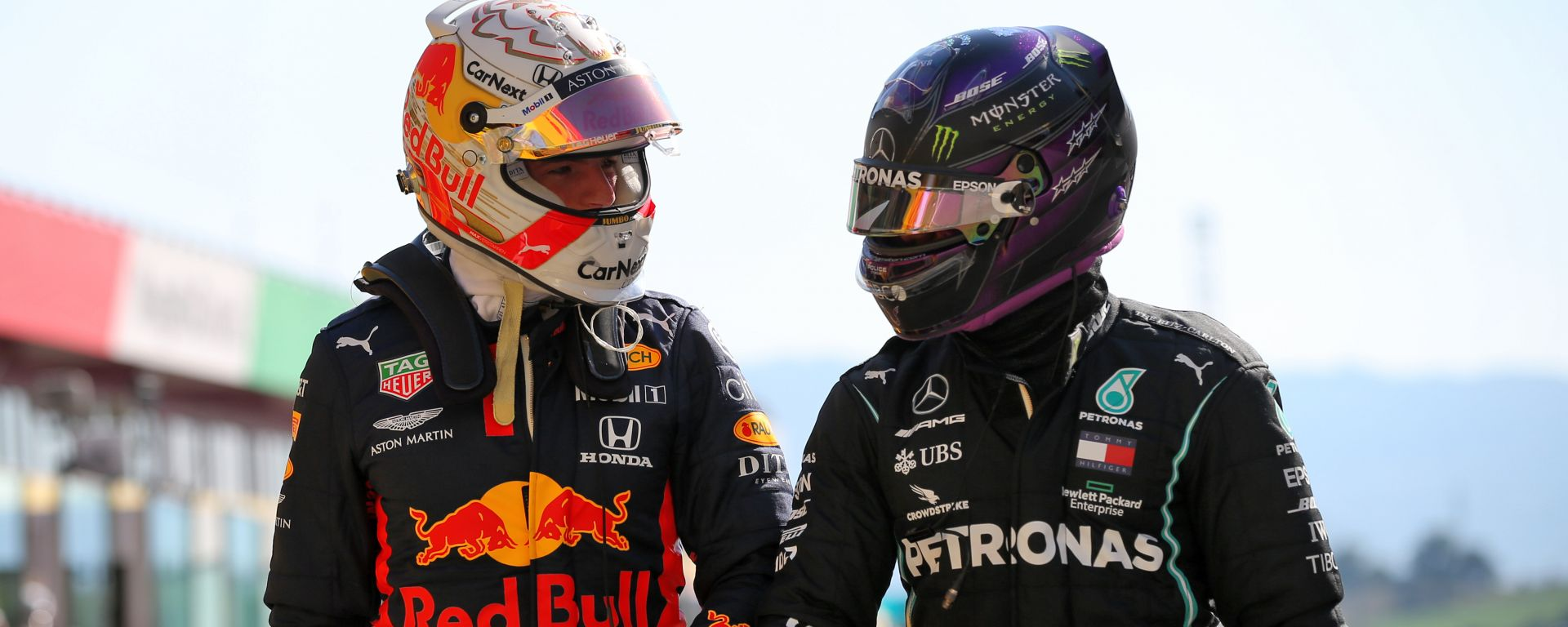F1 2020: Max Verstappen (Red Bull) e Lewis Hamilton (Mercedes)