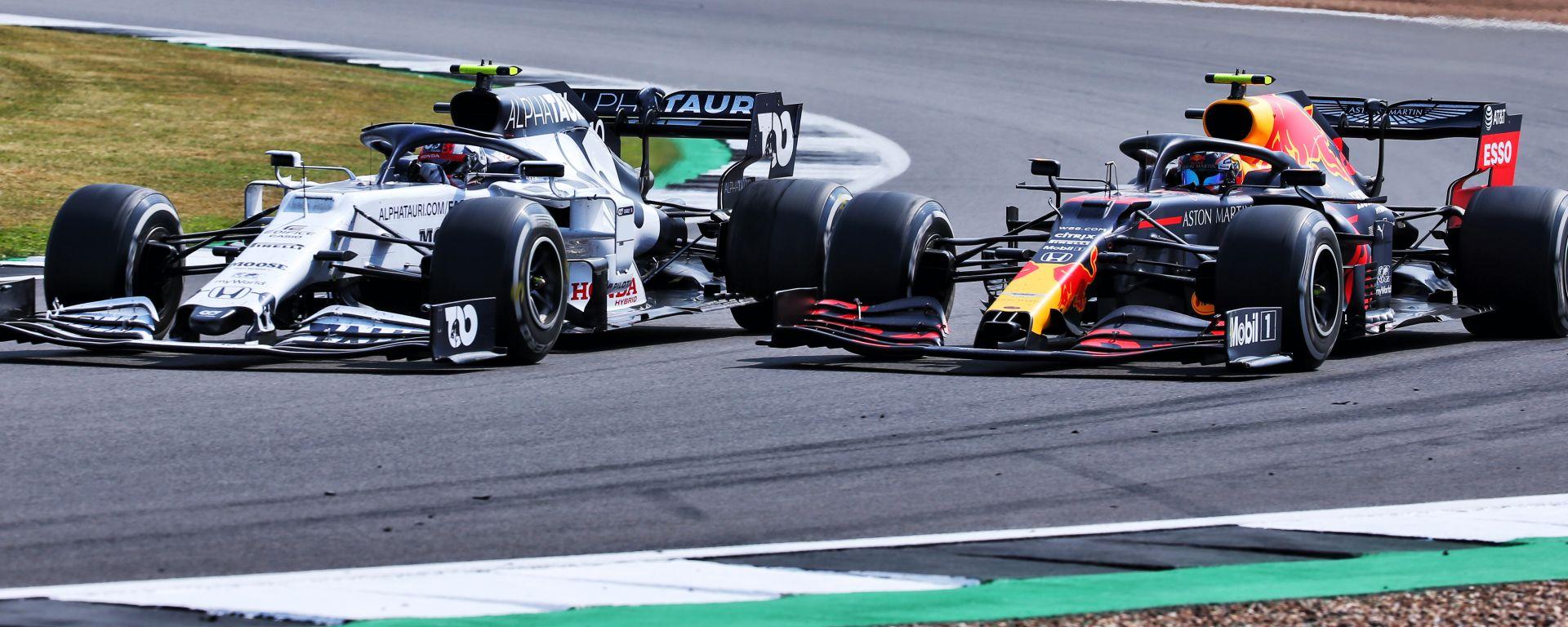 F1 2020: Pierre Gasly (Alpha Tauri) e Alex Albon (Red Bull)
