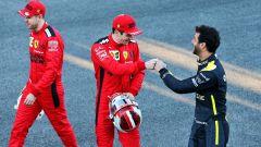 Ricciardo conferma le trattative con la Ferrari