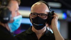 F1 2020, Simon Roberts nel box Williams