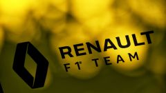 F1 2020, Test Barcellona: il logo del team Renault F1
