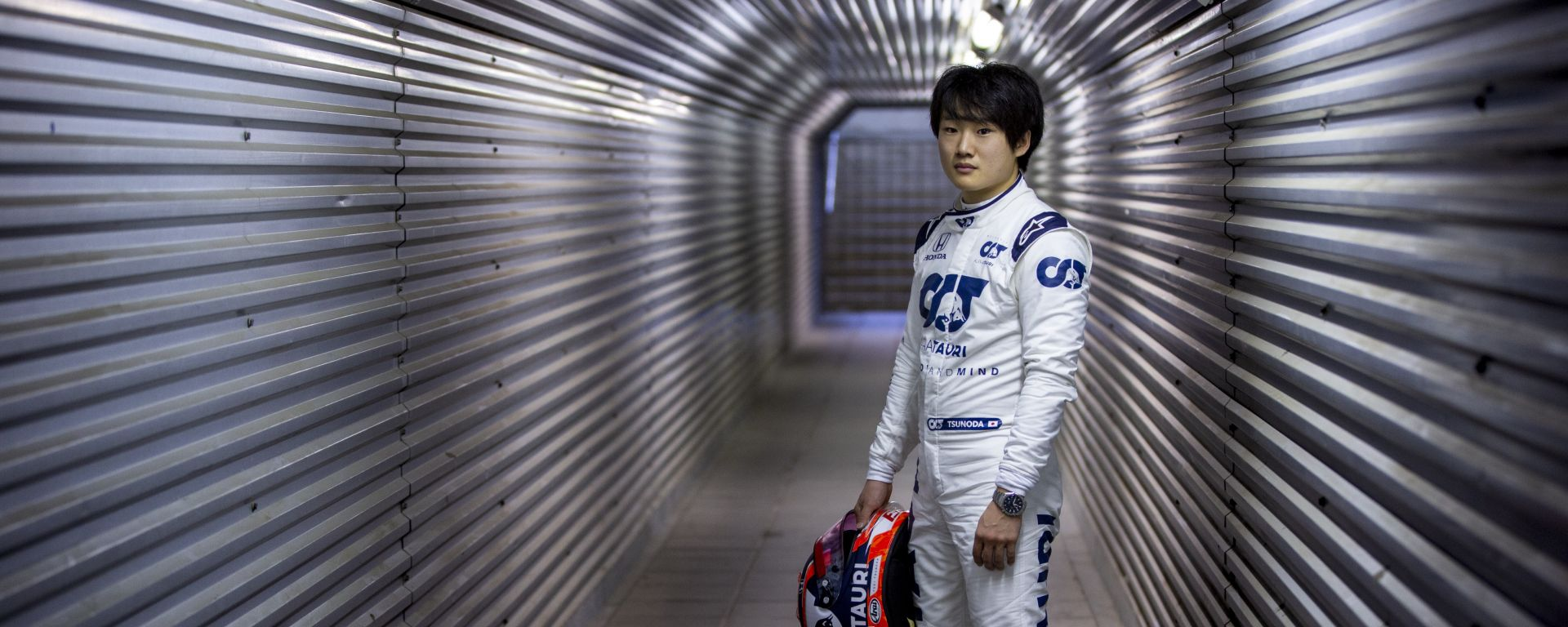 F1 2020, Test privati Imola: Yuki Tsunoda in tuta AlphaTauri