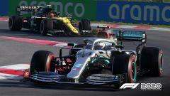 F1 2020: un momento di gara all'Hungaroring