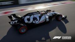 F1 2020: una Alpha Tauri in gara
