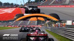 F1 2020: una gara in split-screen