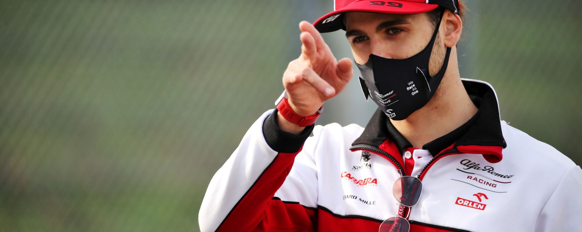 F1 2021: Antonio Giovinazzi (Alfa Romeo) unico pilota italiano al via