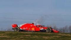 F1 2021, Carlos Sainz Jr debutta a Fiorano al volante della Ferrari