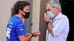 La prima volta di Sainz a un gran premio di Formula 1