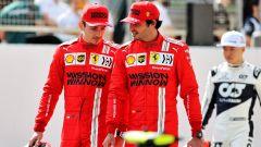 Da Vettel a Sainz, cosa è cambiato per Leclerc