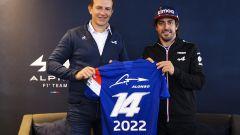 Fernando Alonso e Alpine F1 Team insieme anche nel 2022