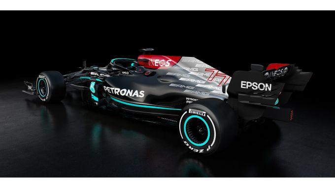 F1 2021, i primi render 3D della Mercedes F1 W12 E Performance