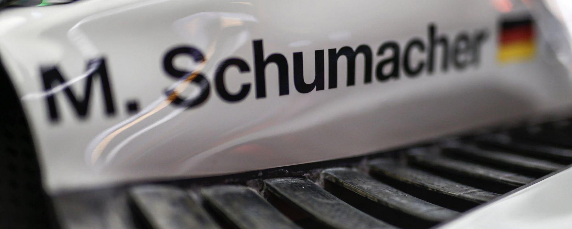 F1 2021, il nome di Mick Schumacher sulla livrea della Haas
