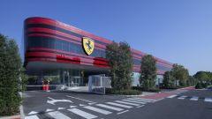F1 2021, il palazzo della Gestione Sportiva Ferrari a Maranello