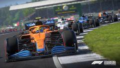 F1 2021, il videogame ufficiale della Formula 1. Un'immagine di gioco