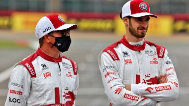 F1 2021: Kimi Raikkonen e Antonio Giovinazzi (Alfa Romeo)