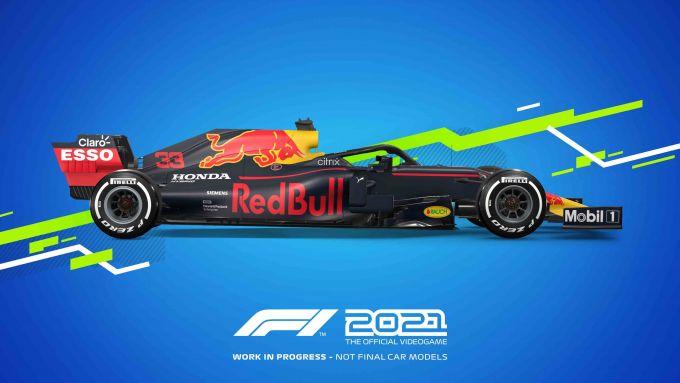 F1 2021: la Red Bull 2021